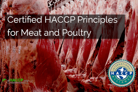 HACCP for Meat and Poultry Processors course