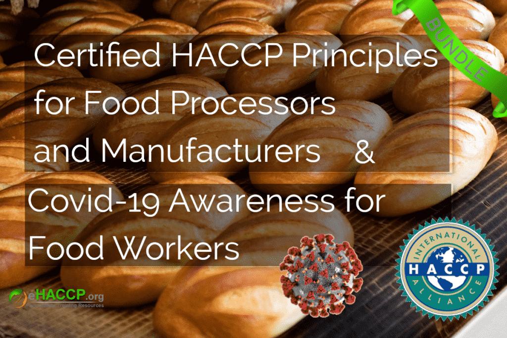 HACCP Processor Covid Course Cover