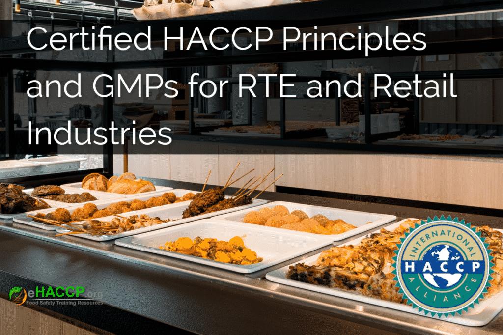 HACCP RTE Retail Course Cover